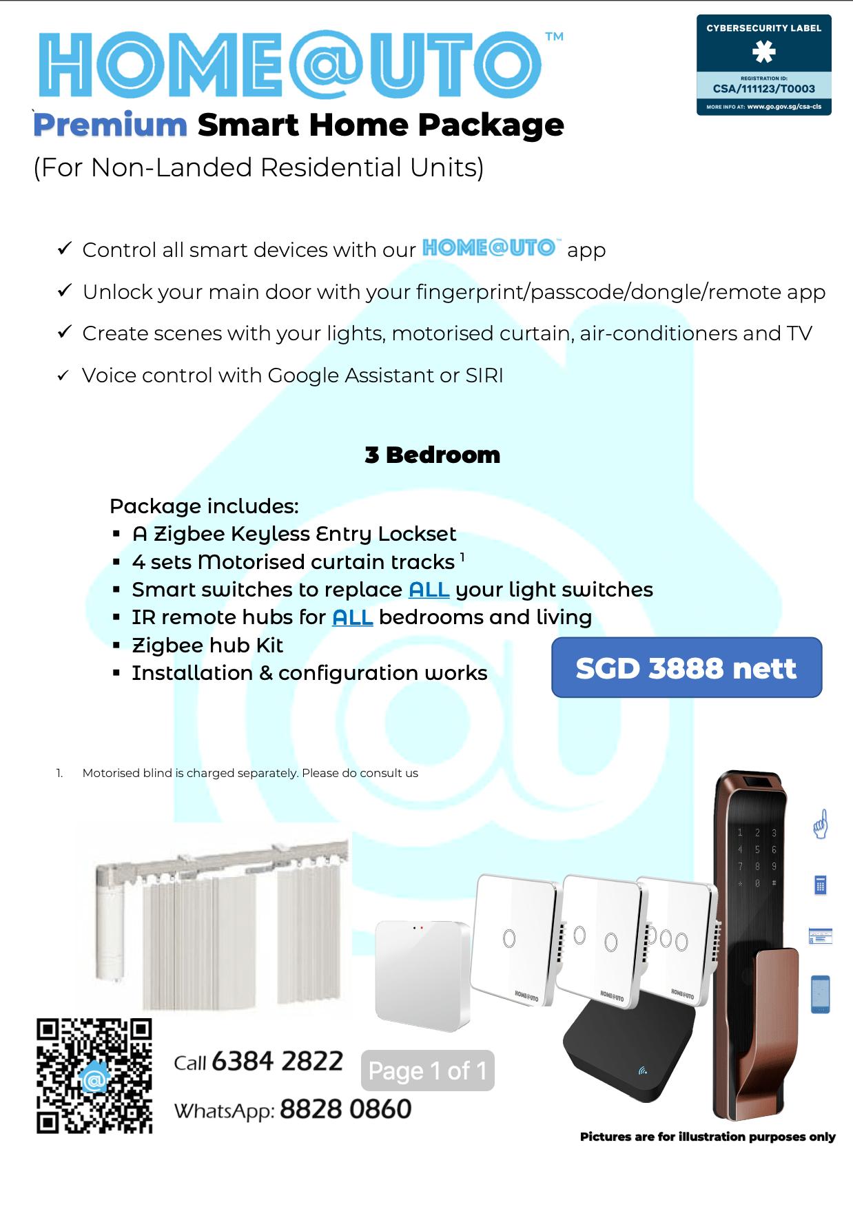 Premium 3 Bedroom Package